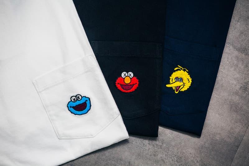 "La Collection Capsule KAWS x Uniqlo UT "" Sesame Street"""