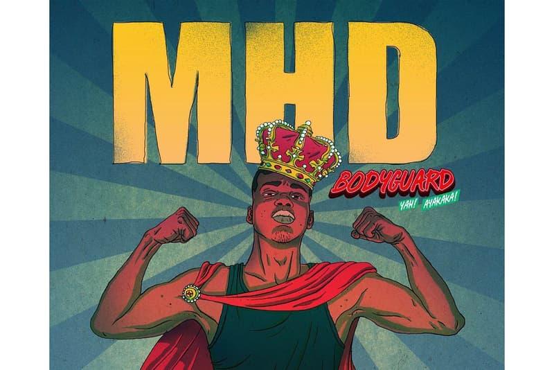 """Cover De """"Bodyguard"""" De MHD"""