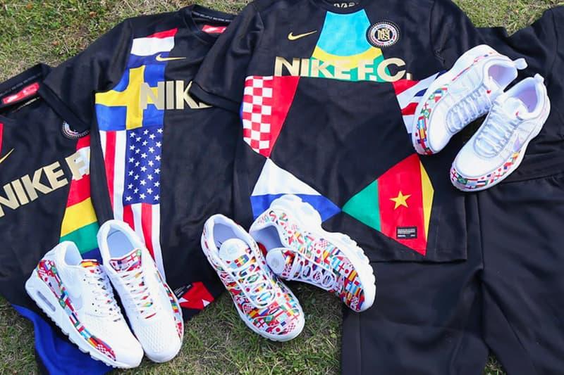 info for 7a772 c081d Nike Flag Pack Air Max Plus Air Zoom Spiridon Air Max 90