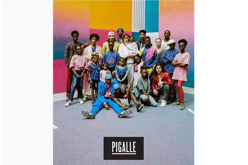 pigalle, basket, ball, collection, paris