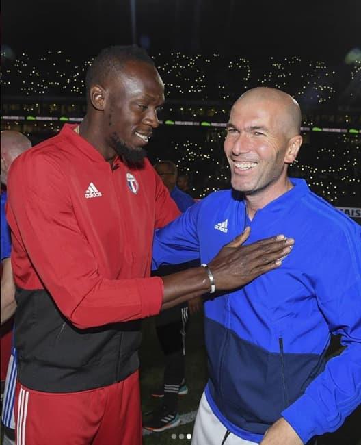 Usain Bolt, Zidane,