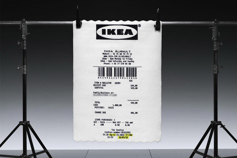 Photos IKEA x Virgil Abloh