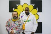 Entrez Dans La Nouvelle Exposition De Virgil Abloh Et Takashi Murakami À La Galerie Gagosian À Paris