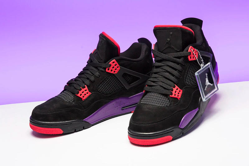 """Photo Air Jordan 4 """"Raptors"""""""
