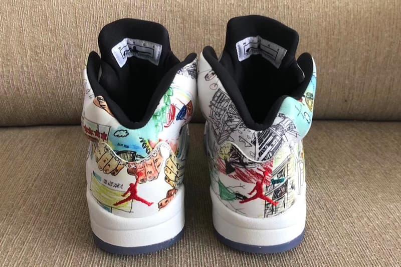 """Photo Air Jordan 5 """"Wings"""""""