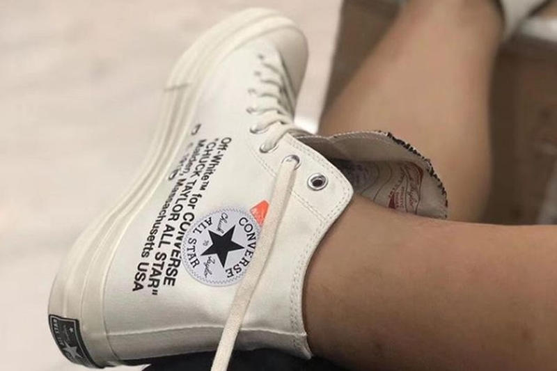Photo Converse x Off-White™