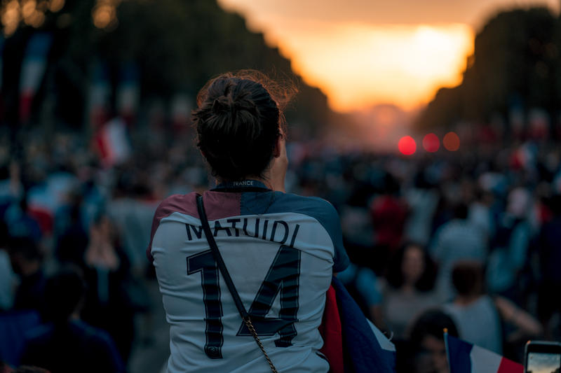 Photo Des Supporters Français