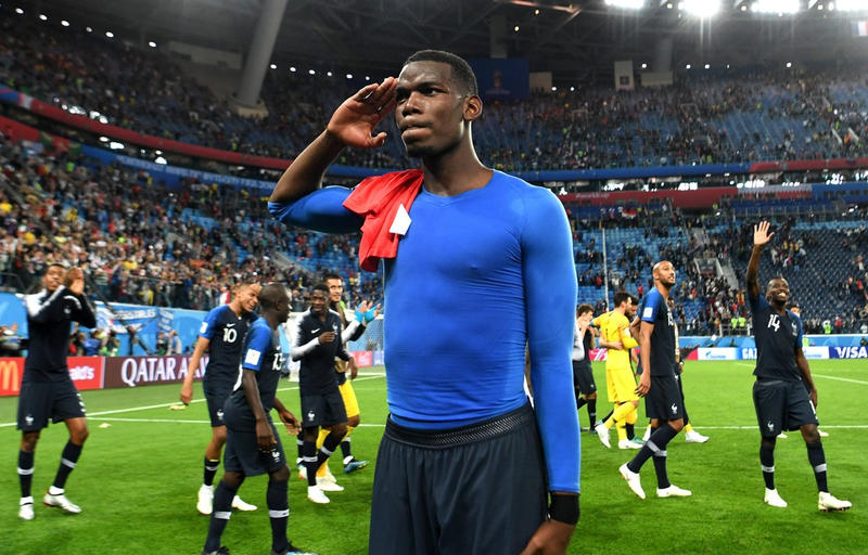 Equipe de France, Umtiti, N'Golo Kanté, France, Belgique, Photos