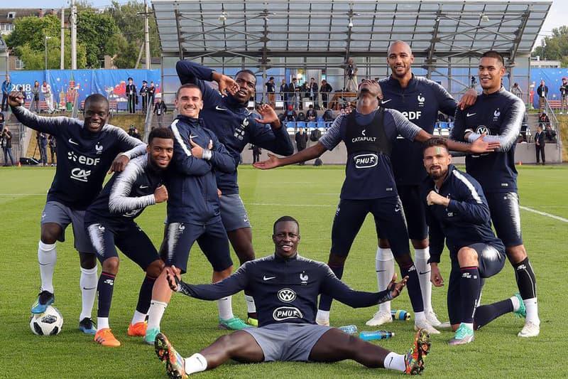 Photo De L'Équipe De France