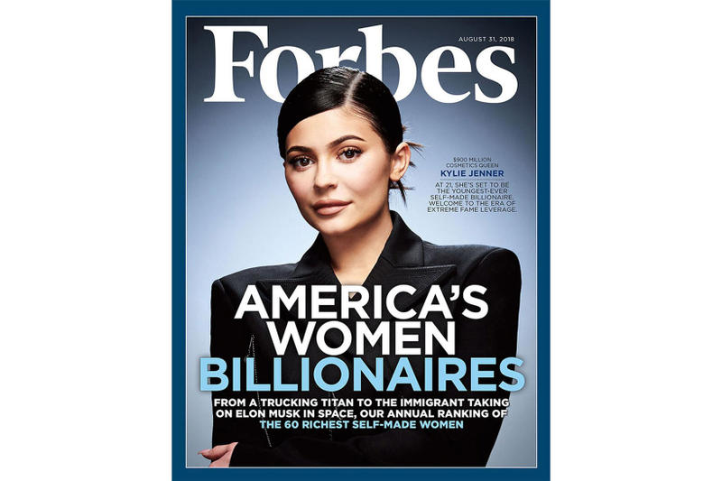 Photo Kylie Jenner Forbes