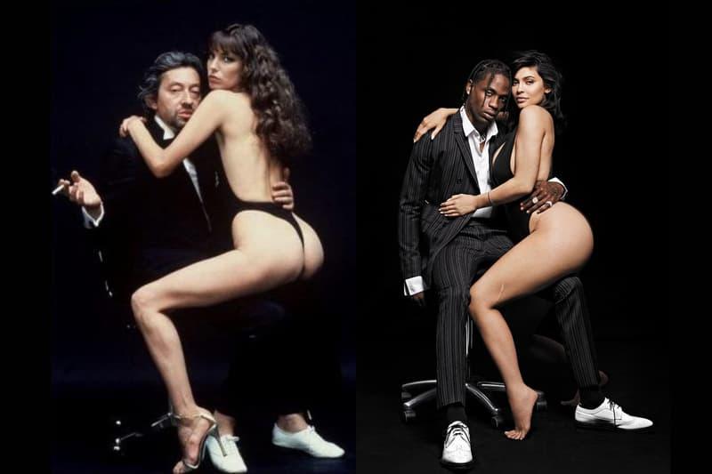 Kylie Jenner Travis Scott GQ Magazine couverture interview Serge Gainsbourg Jane Birkin