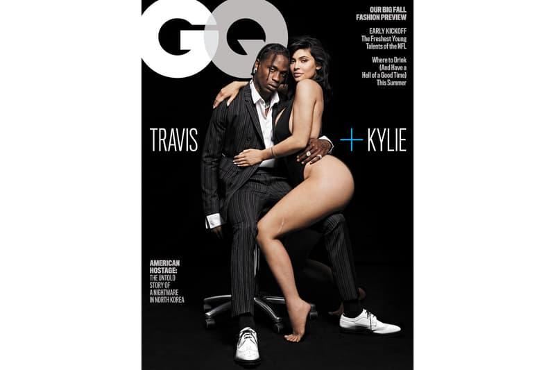 Kylie Jenner Travis Scott GQ Magazine couverture interview