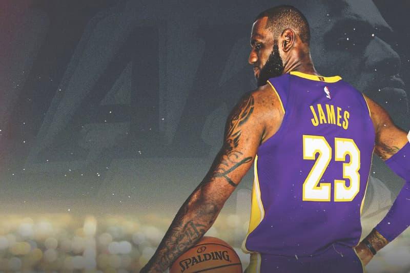 Photo LeBron James Lakers