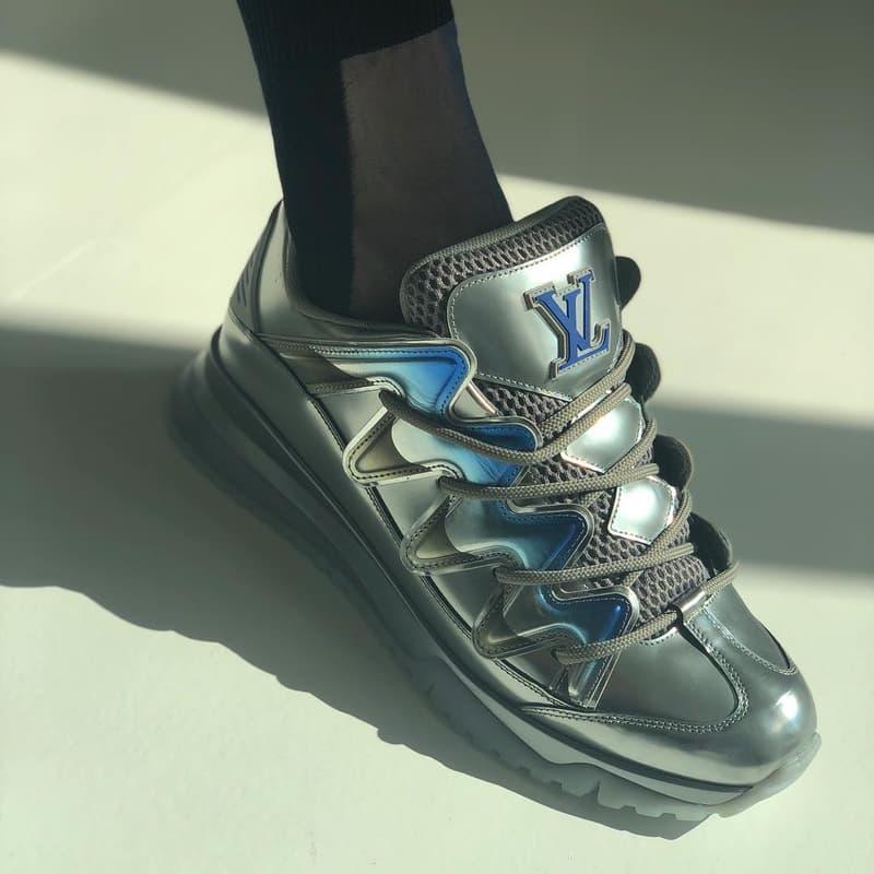 Une Nouvelle Paire De Sneakers Louis Vuitton Par Virgil Abloh A Fait ... 1063ec9db13