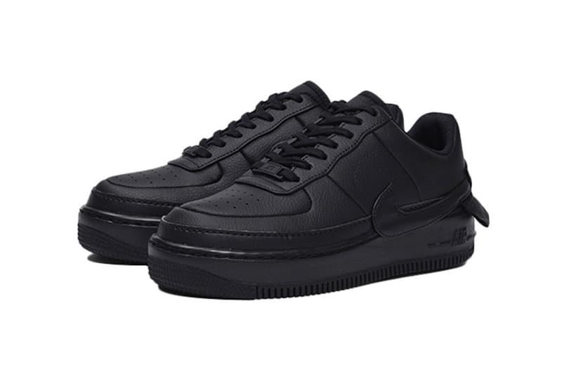 official photos 4c757 fbde8 Nike Air Force 1 XX Jester Triple Black