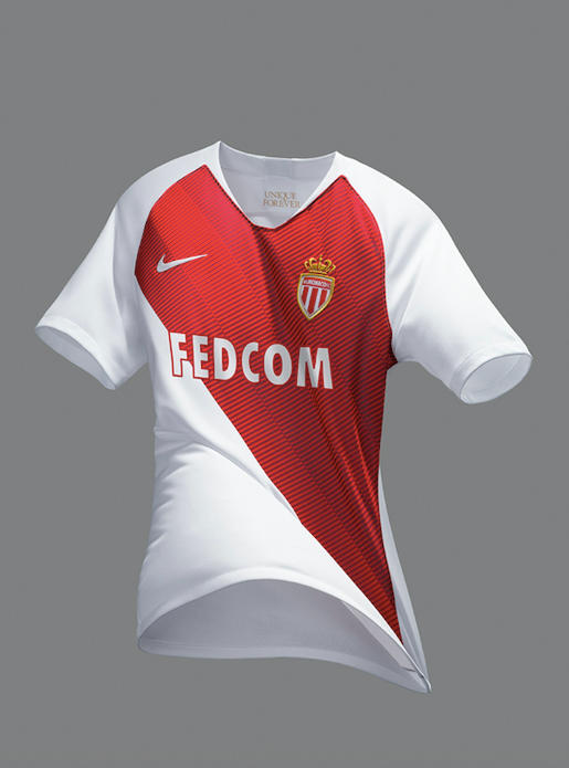 Photo Du Kit Domicile De L'AS Monaco