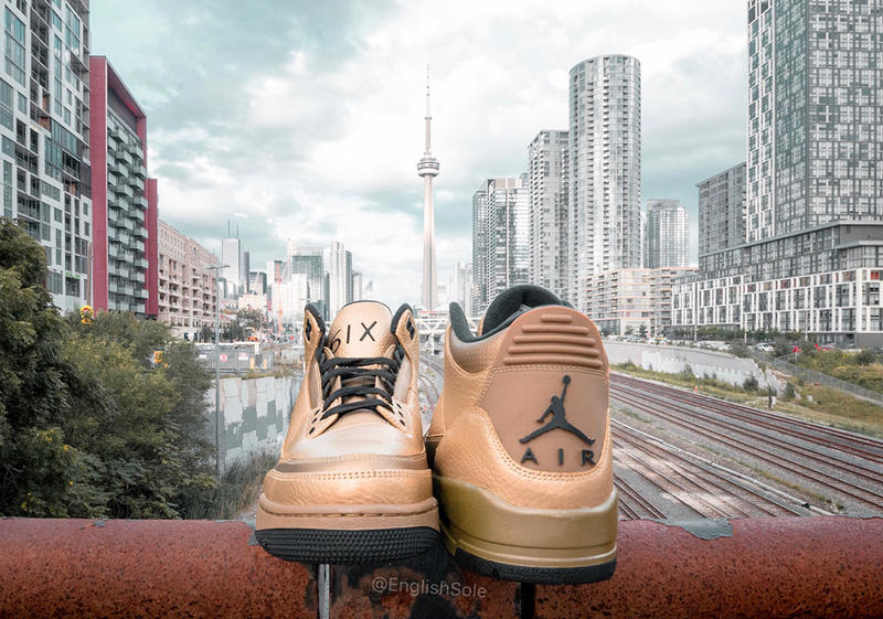 "Photos De La OVO x Air Jordan 3 ""6IX"""