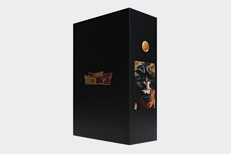 adidas dragon ball Z sortie packaging goku freezer
