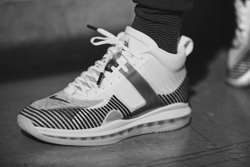 LeBron James Nike John Elliott Sneaker