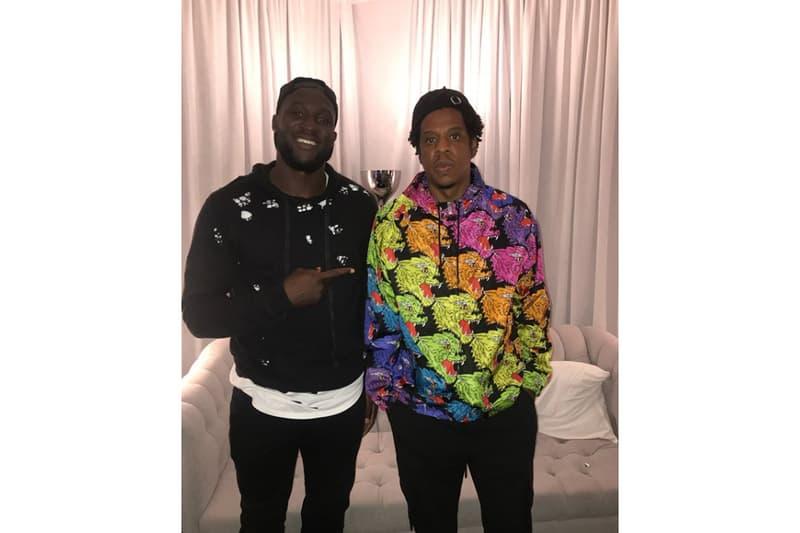 Romelu Lukaku Jay-Z Rencontre