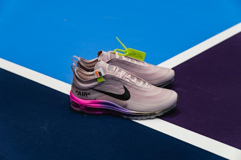 "Off-White™ Nike Serena Williams ""QUEEN"" Air Max 97 Blazer NikeCourt Flare 2"