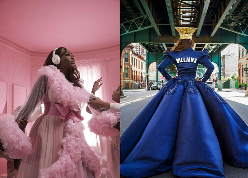 Serena William, Nicki Minaj, Beats by Dre