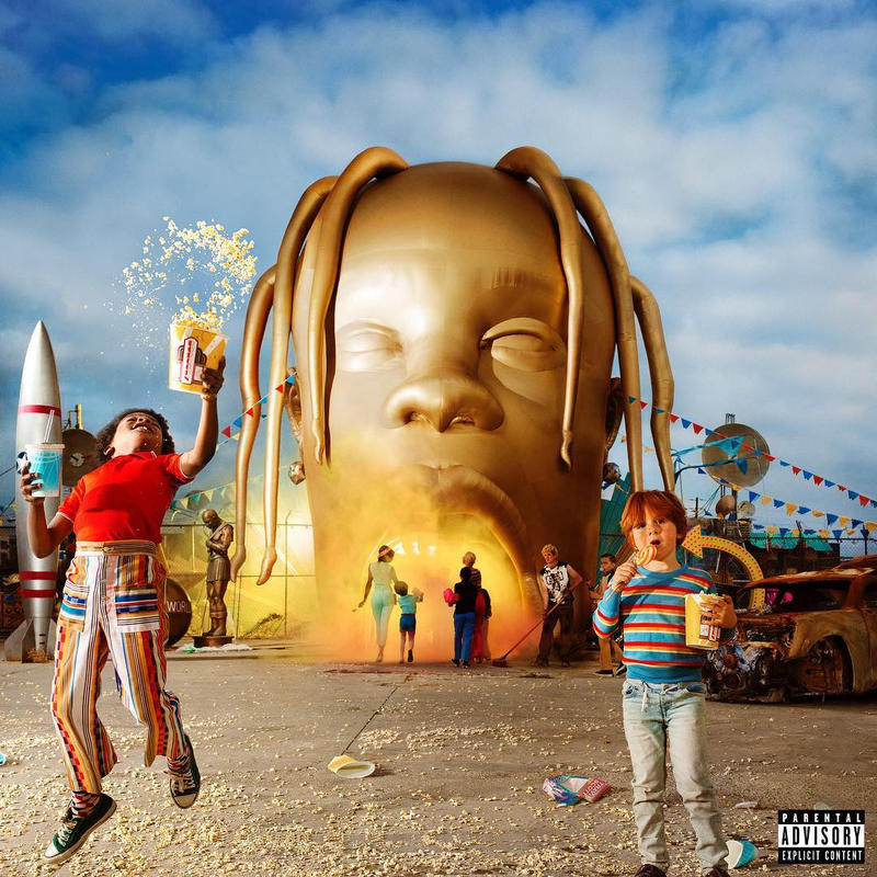 Photo De La Cover D'ASTROWORLD De Travis Scott