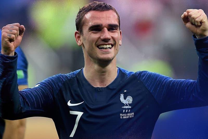 Antoine Griezmann Samuel Umtiti Equipe De France Video Hilarante