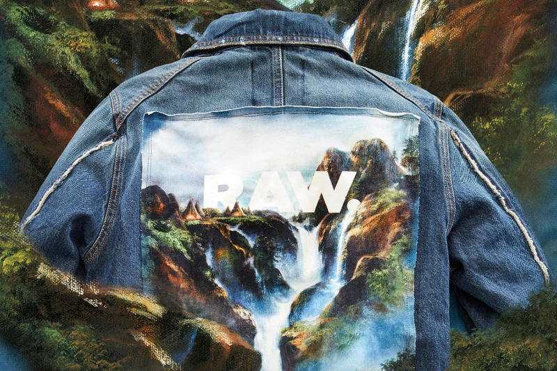Jaden Smith G-Star RAW Paris Nous Exclusivité