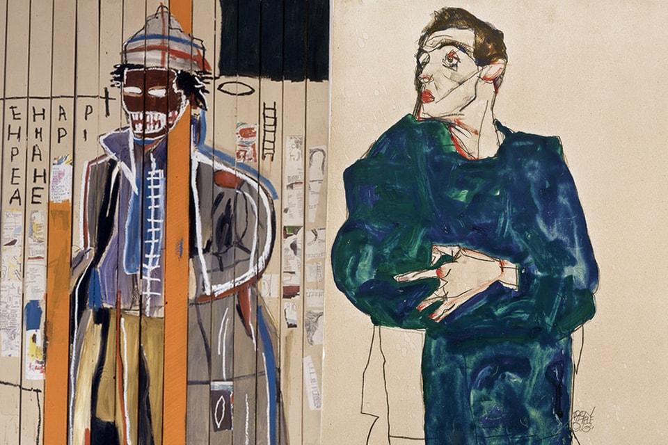 Ne Manquez Pas Jean-Michel Basquiat & Egon Schiele À La Fondation Louis Vuitton