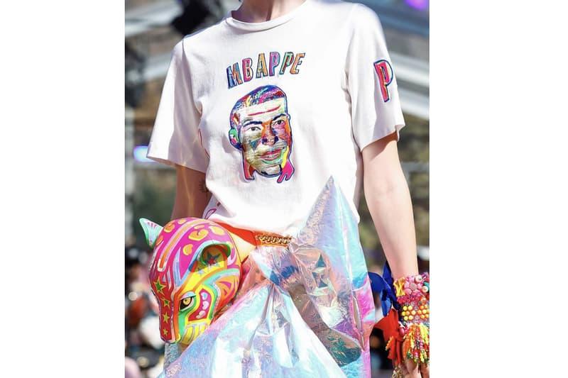 PSG Mbappé Paris Fashion Week