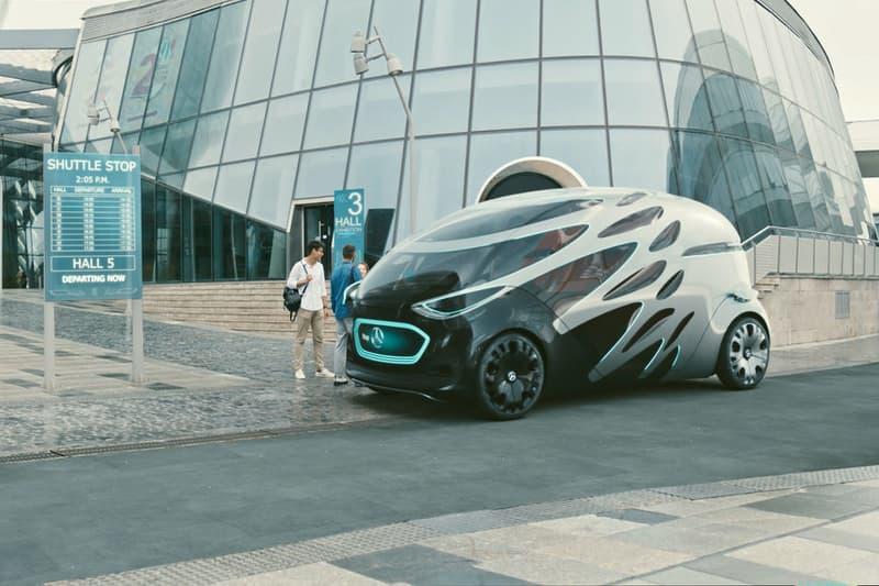 Mercedes-benz voiture autonome electrique vision urbanetic
