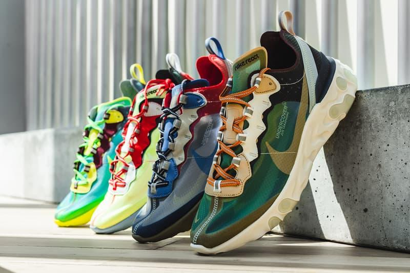 61c736c972 Une Date De Restock Pour La UNDERCOVER x Nike React Element 87 ...