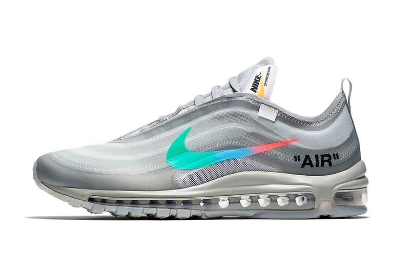 La Off White X Nike Air Max 97 Menta Se Dévoile En Images Hypebeast