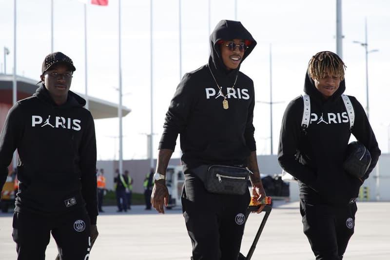 sale utterly stylish look out for La Collab PSG x Air Jordan S'Exhibe Lors De L'Arrivée Des ...