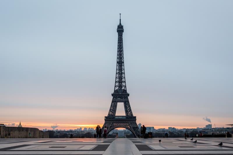 Artcurial Tour Eiffel Encheres morceau escalier
