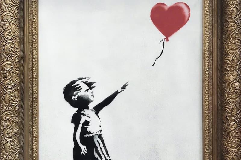 Banksy Œuvre Autodetruit Vente Enchères