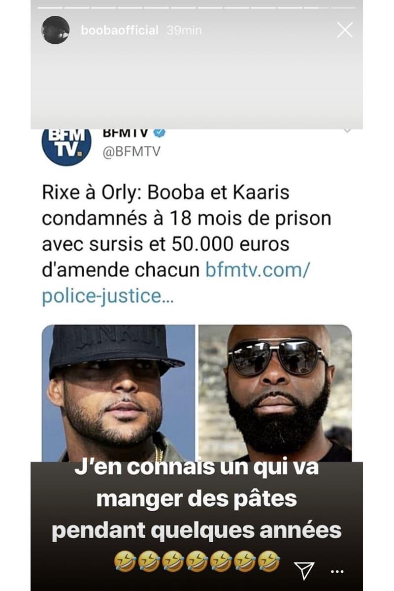 Booba Kaaris Verdict Reaction Humour