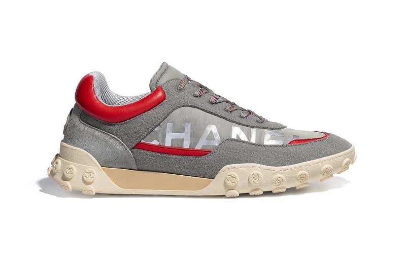 Chanel Sneaker Nylon & Calfskin