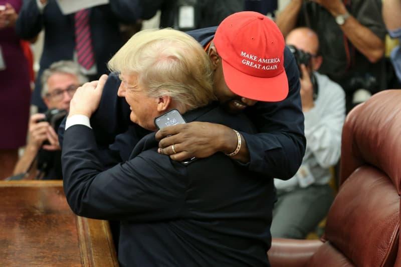 Photo Kanye West Donald Trump
