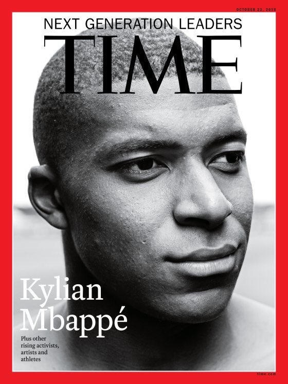 Photo De Kylian Mbappé Pour Le Time