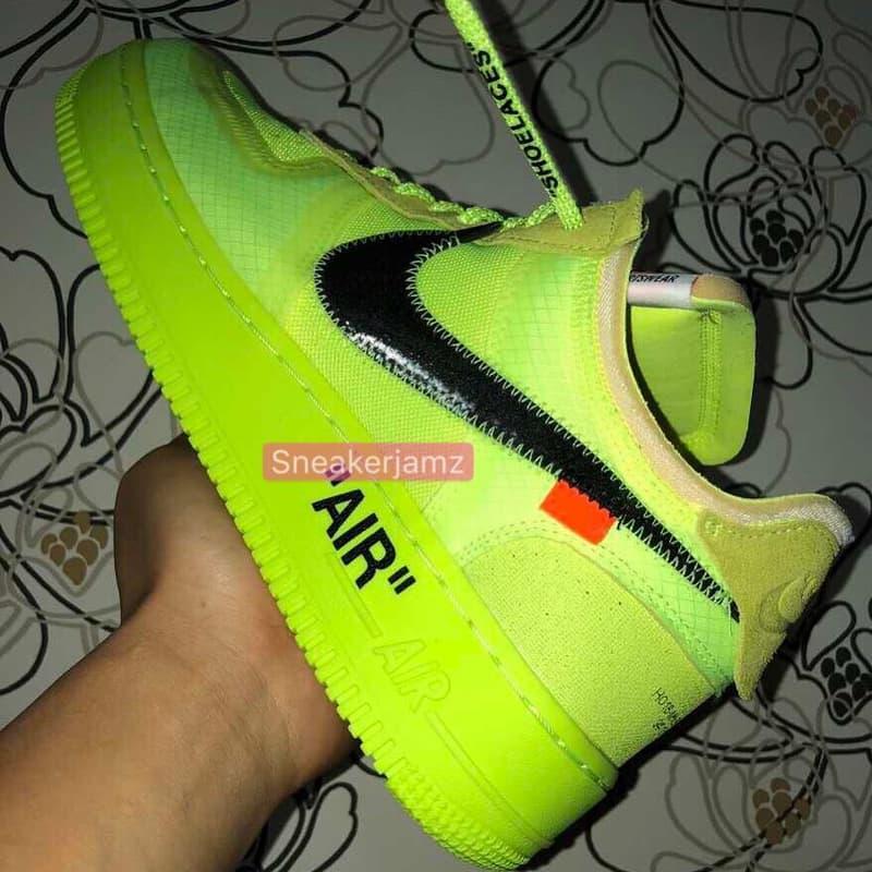 photos officielles f1ea8 7816c Les Visuels De Deux Off-White™ x Nike Air Force 1 Ont Leaké ...