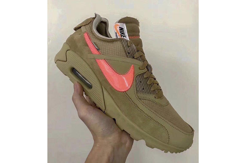Off-White™ x Nike Air max 90 Desert Ore Images