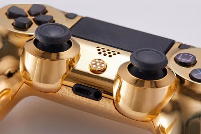 Playstation 4 Dualshock Or Diamants