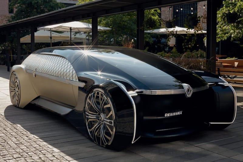 Renault Mise Sur Le Luxe Avec Son Nouveau Concept Car Autonome