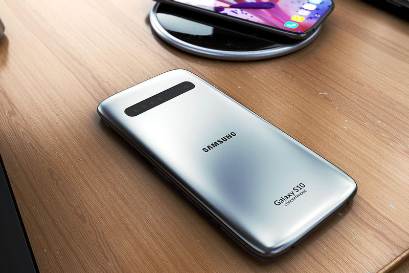 Samsung Galaxy S10 Concept Images Videos
