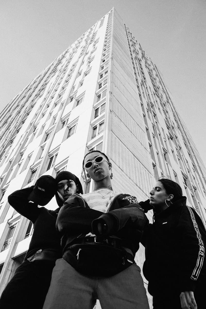 TEALER Schott NYC Collaboration Lookbook