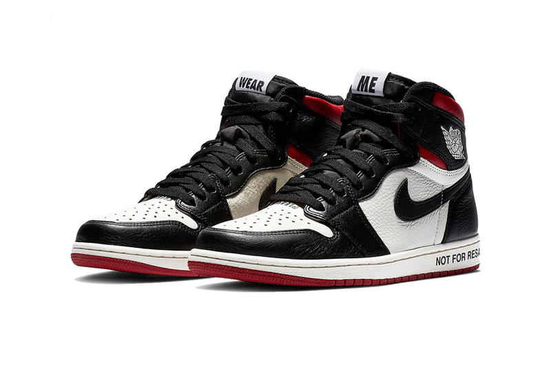 Air Jordan 1 Not for resale black toe images date de sortie