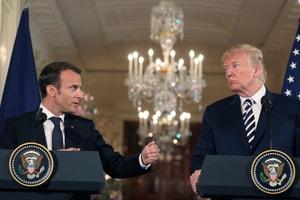 """Donald Trump Veut """"Make France Great Again"""" Et S'En Prend À Emmanuel Macron Dans Une Série De Tweets"""