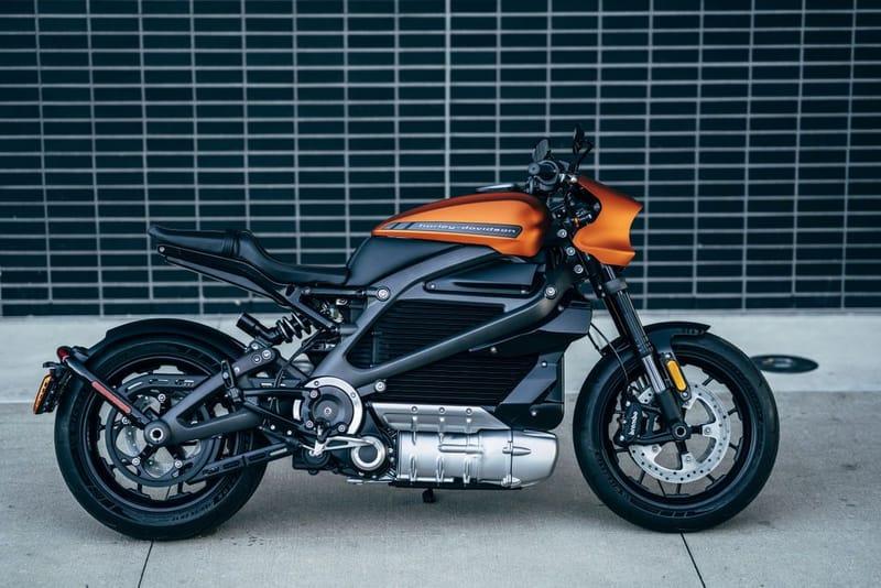 Voic À Quoi Ressemble La Toute Première Harley Davidson Électrique